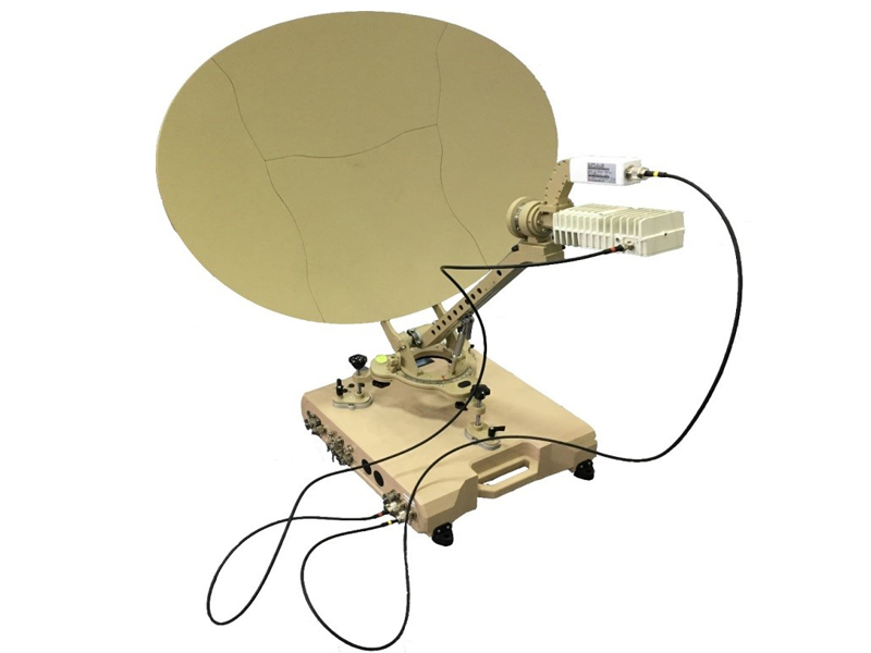 轻型音视频卫星便携站